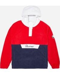 Penfield - Honnold Colorblock Fleece Pullover Hoodie - Lyst