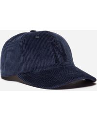 Norse Projects - 6 Panel Corduroy Cap - Lyst