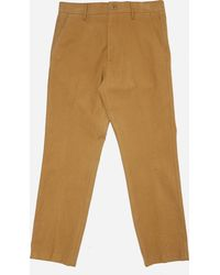 Norse Projects - Haga Brushed Moleskin Pant - Lyst
