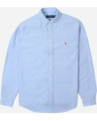 5b4cd6d65 Polo Ralph Lauren Core Classic Fit Oxford Shirt in White for Men - Lyst