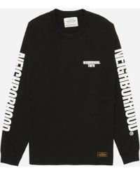 Neighborhood - Long Sleeve C.i. T-shirt - Lyst