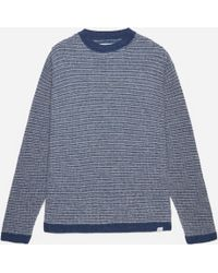 Norse Projects - Arlid Linen Structure Knit - Lyst