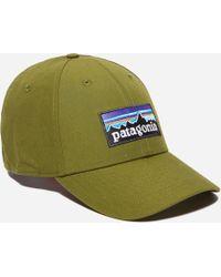 Patagonia - P-6 Logo Stretch Fit Cap - Lyst