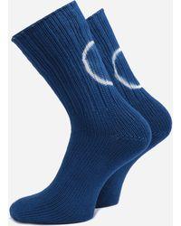 Anonymous Ism - Shibori Dye Crew Circle Socks - Lyst