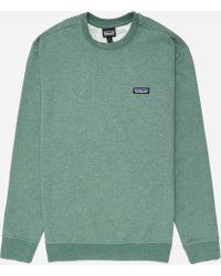 Patagonia - P-6 Label Mw Crew Sweatshirt - Lyst