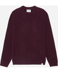 Norse Projects - Sigfred Lambswool Knit - Lyst