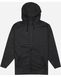 Rains - Breaker Black Jacket - Lyst