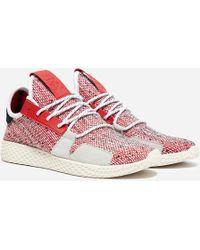 2fca546b4b408 adidas Originals - X Pharrell Williams Solar Hu Tennis V2  afro Pack  - Lyst