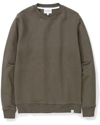Norse Projects - Vagn Classic Crew Ivy Green - Lyst