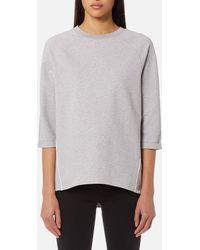 Maison Scotch - Club Nomade Clean Sweatshirt - Lyst