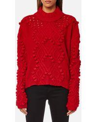 Guess - Long Sleeve Vanda Sweatshirt - Lyst