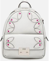 Guess - Varsity Pop Small Backpack - Lyst