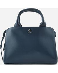 c489817e1b Lyst - Radley Hardwick Medium Ziptop Tote Bag in Blue