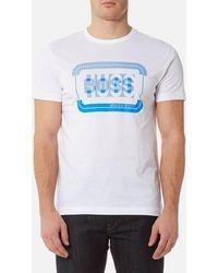 BOSS Green - 1 Crew Neck T-shirt - Lyst