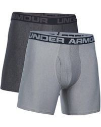 Under Armour - O Series 6'' Boxerjock Boxer Briefs 2 Pack - Lyst