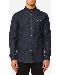 Lyle & Scott - Denim Shirt - Lyst