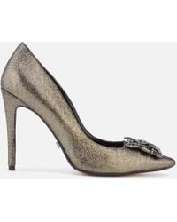 Dune - Breanna Suede Court Shoes - Lyst
