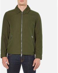 Gant Rugger Men's Double Flyer Jacket - Green