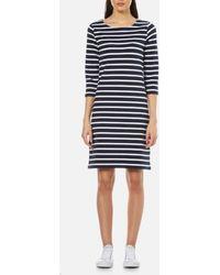 GANT - Sailor Jersey Dress - Lyst
