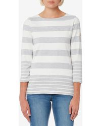 Joules - Harbour Jersey Top - Lyst