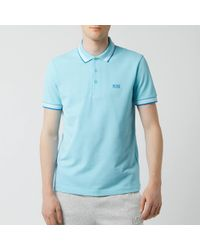 8e92e88f3 BOSS Paddy 1 Polo Shirt in Pink for Men - Lyst