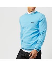 BOSS Green - Rime Crew Neck Knitted Jumper - Lyst