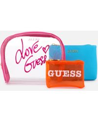Guess - Paloma All In One Wash Bag - Lyst