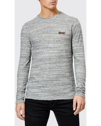 Superdry - Orange Label Long Sleeve Top - Lyst