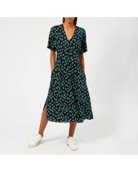 Whistles - Lenno Print Naya Button Dress - Lyst