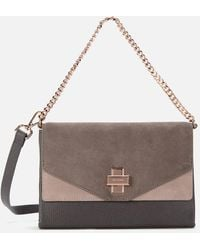 Ted Baker Twist Clasp Cross Body Bag - Multicolour