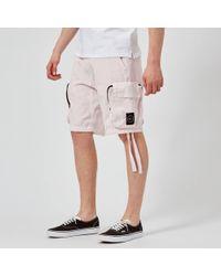 Marshall Artist - Garment Dyed Cargo Shorts - Lyst