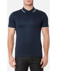 BOSS Green - Pl Tech Polo Shirt - Lyst