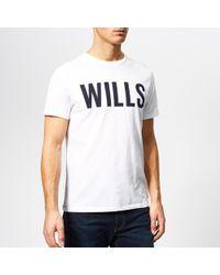 Jack Wills - Wentworth Graphic T-shirt - Lyst