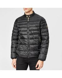 Versace Jeans - Reversible Padded Jacket - Lyst