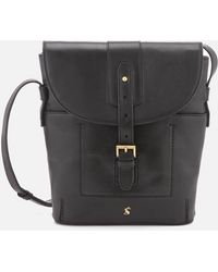 Joules - Tourer Leather Cross Body Bag - Lyst