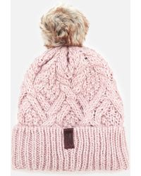 Superdry - Nebraska Cable Beanie - Lyst