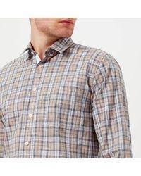 BOSS Orange - Cattitude Checked Shirt - Lyst