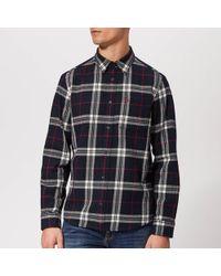 Jack Wills - Langworth Heavy Weight Flannel Shirt - Lyst