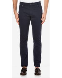 Hackett - Trinity Twill Five Pocket Trousers - Lyst