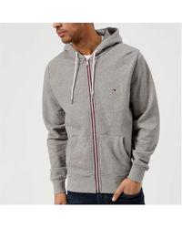 Tommy Hilfiger - Basic Hooded Zip Through Sweatshirt - Lyst