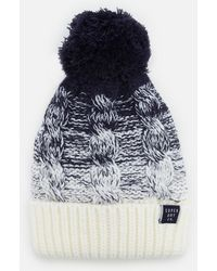 Superdry - Clarrie Cable Beanie - Lyst