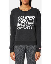 Superdry | Lightweight Crew Neck Sweatshirt | Lyst