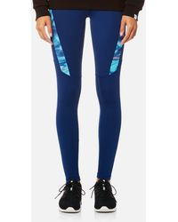 PUMA - Everyday Graphic Tights - Lyst