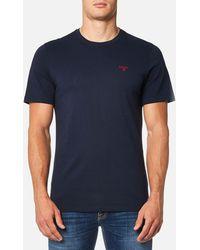 Barbour - Men's Sports Tshirt - Lyst