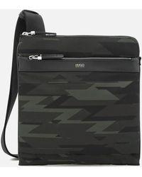 HUGO - Digital Messenger Bag - Lyst