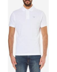 Barbour - Sports Polo Shirt - Lyst
