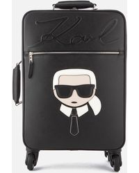 Karl Lagerfeld - K/ikonik Trolley Bag - Lyst