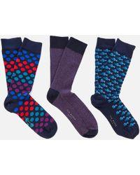 Ted Baker - Reldi Sock Set - Lyst