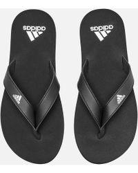 new style 9c6ed 2a708 adidas - Eezay Flip Flops - Lyst
