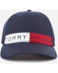 Tommy Hilfiger - Logo Flag Cap - Lyst
